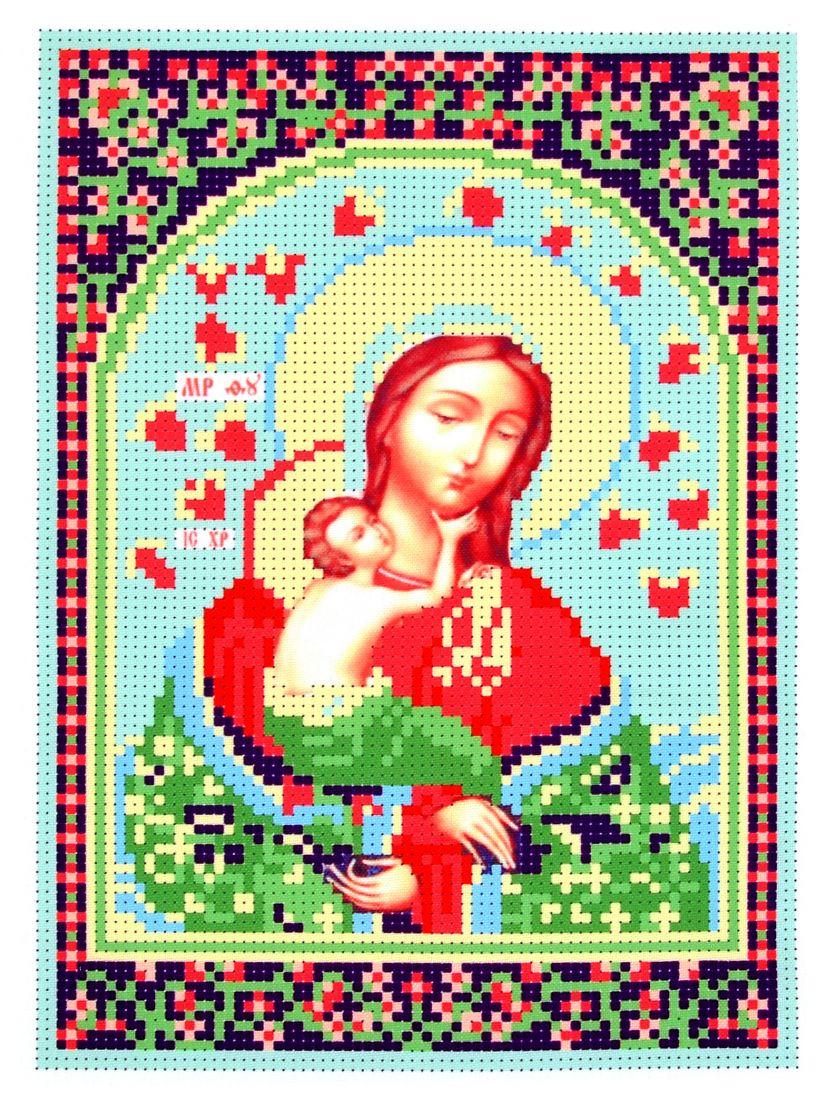 Набор для вышивания бисером «Богородица. Благоуханный цвет» икона