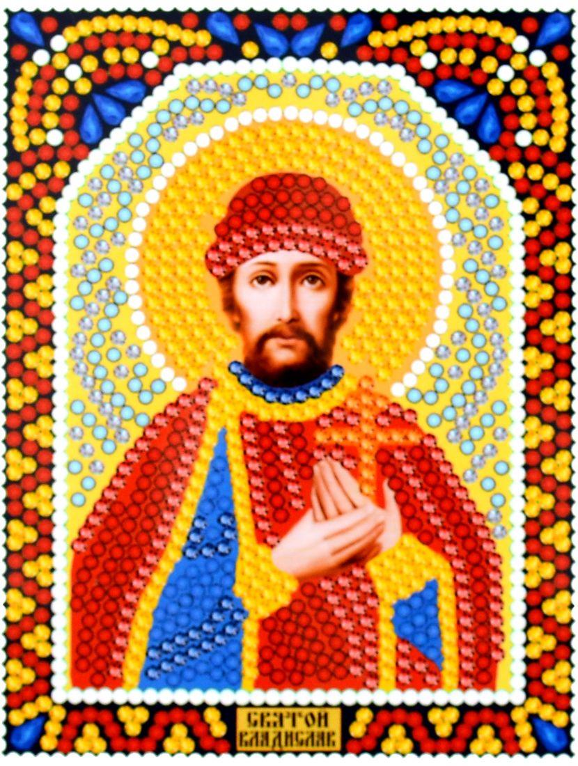Алмазная мозаика «Святой Владислав» икона