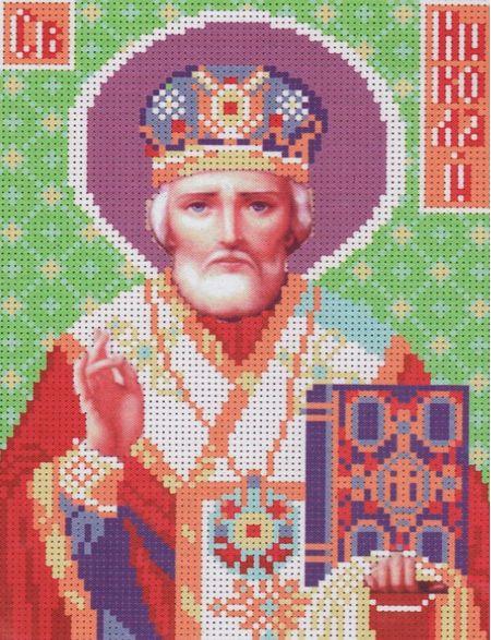 Алмазная мозаика «Святой Николай» икона