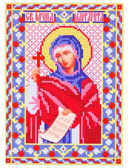 Набор для вышивания бисером «Святая Маргарита Антиохийская» икона