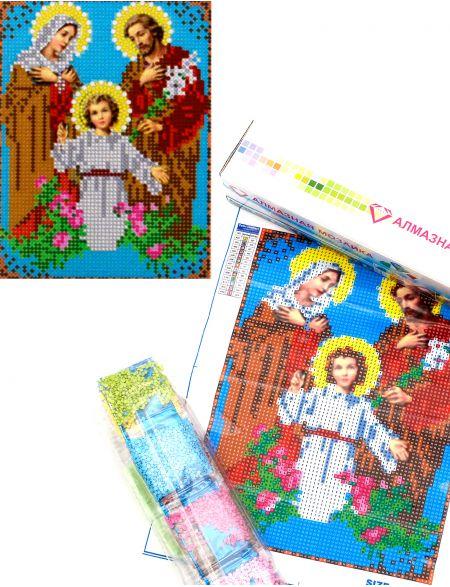 Алмазная мозаика «Святое семейство» икона