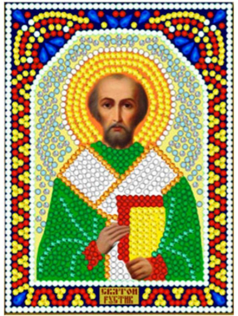 Алмазная мозаика «Святой Руслан» икона