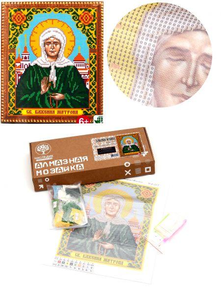 Алмазная мозаика «Святая Блаженная Матрона Московская» икона