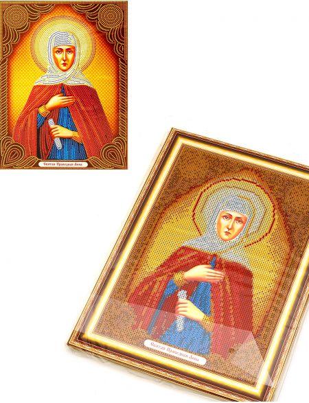 Алмазная мозаика на подрамнике «Святая Праведная Анна» икона