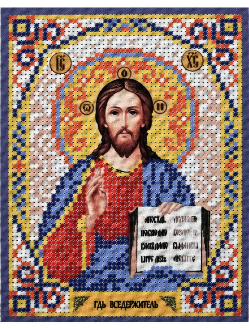 Схема для вышивания бисером «Господь Вседержитель» икона