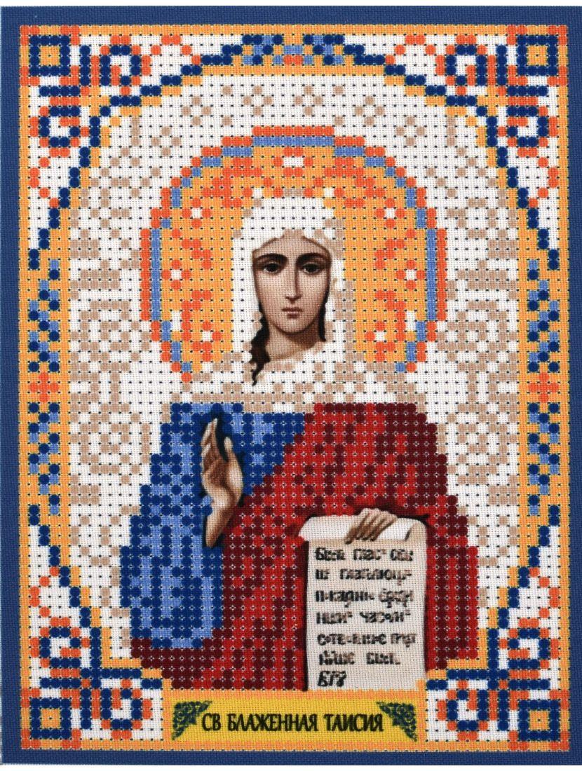 Схема для вышивания бисером «Святая Блаженная Таисия» икона