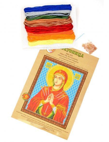Набор для вышивания крестом «Икона Божией Матери. Умягчение Злых Сердец»