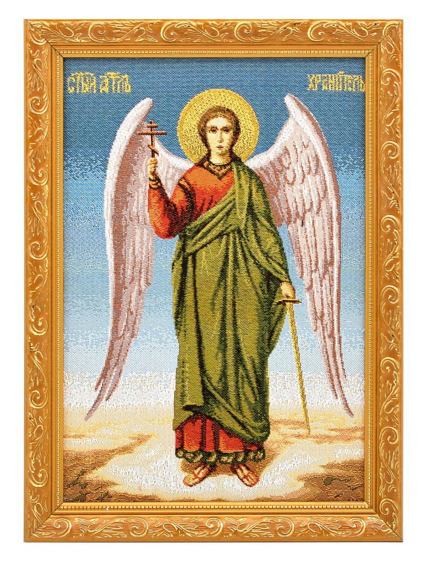 Икона гобелен «Ангел - хранитель»