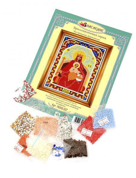 Алмазная мозаика «Божией Матери. Державная» икона