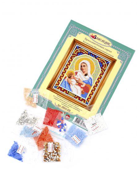 Алмазная мозаика «Божией Матери. Млекопитательница» икона