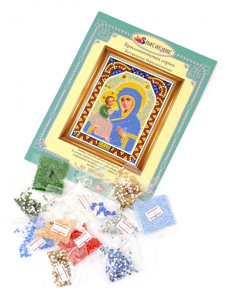 Алмазная мозаика «Божией Матери. Иерусалимская» икона
