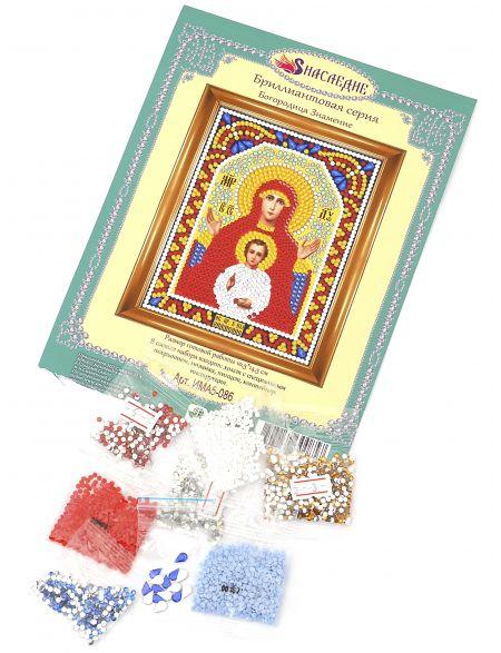Алмазная мозаика «Божией Матери. Знамение» икона