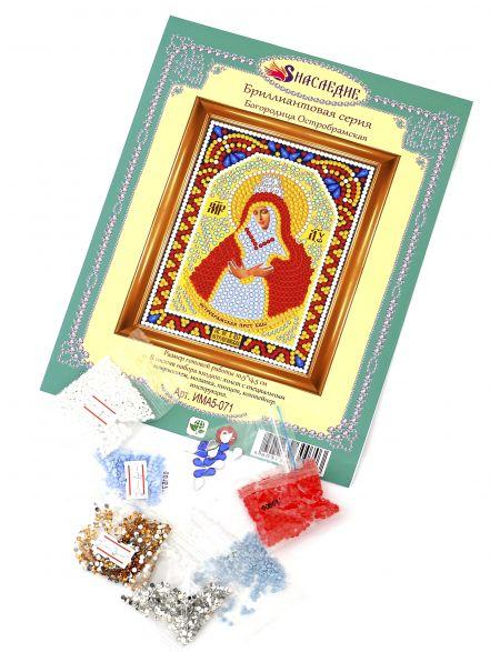 Алмазная мозаика «Богородица Остробрамская» икона