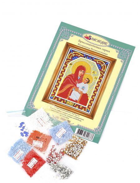 Алмазная мозаика «Богородица Всемилостивая» икона