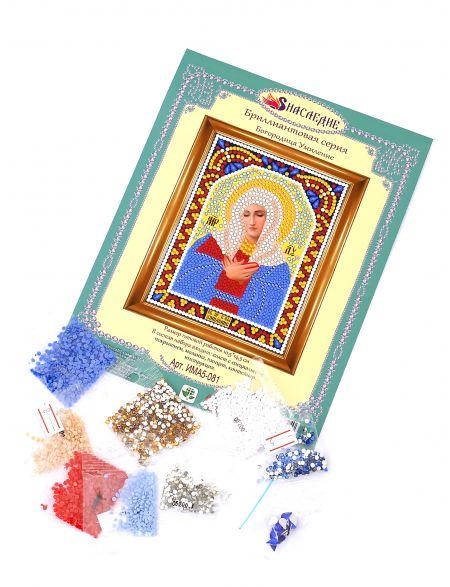 Алмазная мозаика «Богородица Умиление» икона
