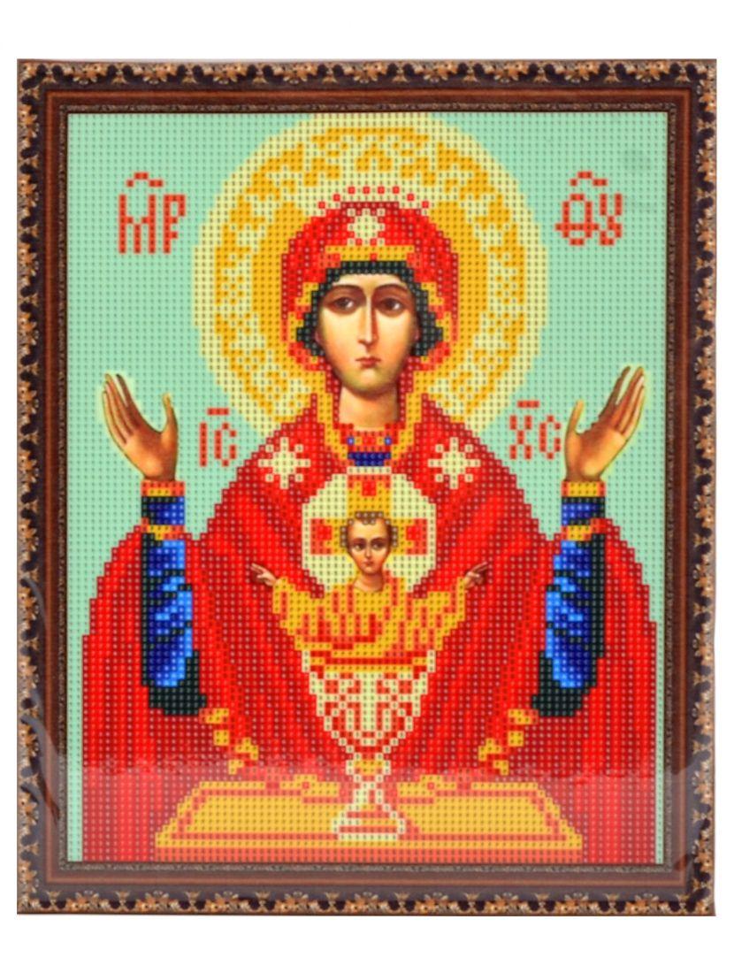 Алмазная мозаика на подрамнике «Божией Матери Неупиваемая Чаша» икона