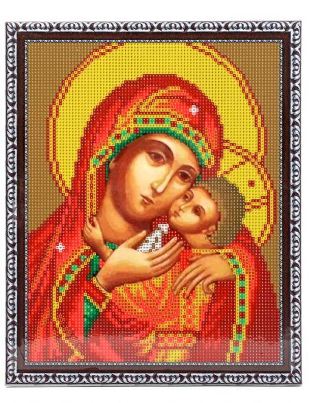 Алмазная мозаика на подрамнике «Божией Матери Корсунская» икона