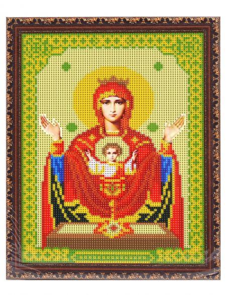 Алмазная мозаика на подрамнике «Божией Матери. Неупиваемая чаша» икона