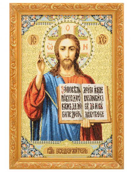Икона гобелен «Спаситель»