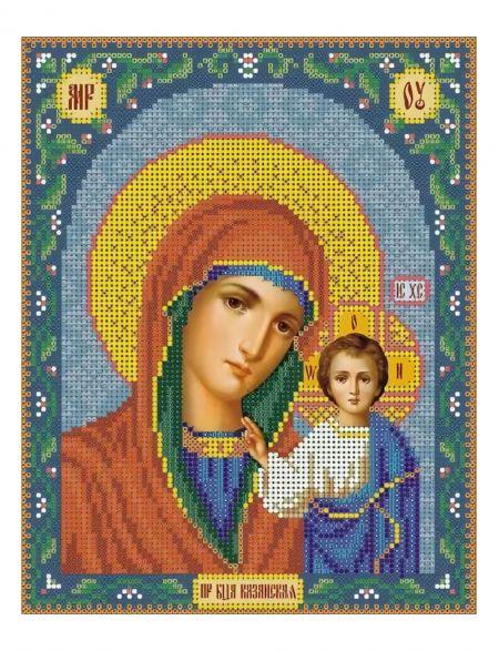 Алмазная мозаика «Богородица Казанская» икона