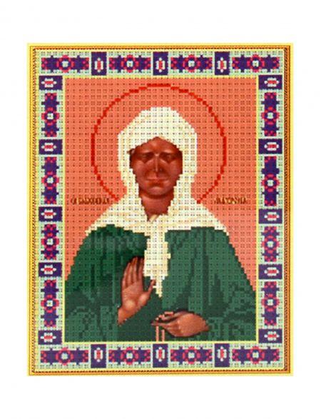 Алмазная мозаика «Святая Матрона» икона