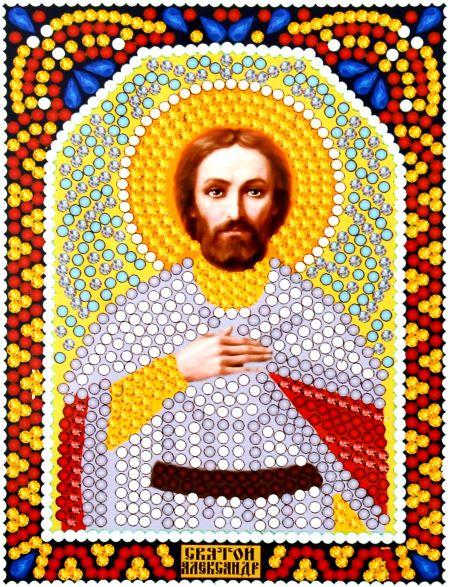 Алмазная мозаика «Святой Александр» икона