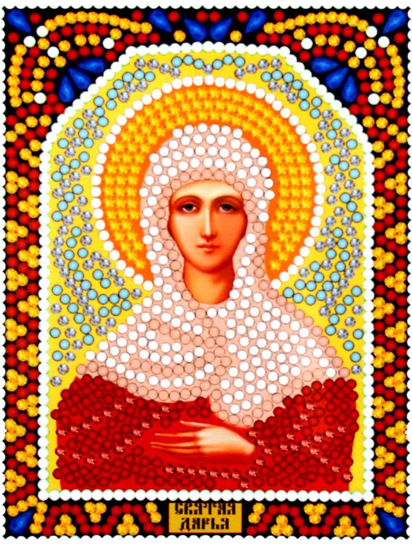 Алмазная мозаика «Святая Дарья» икона