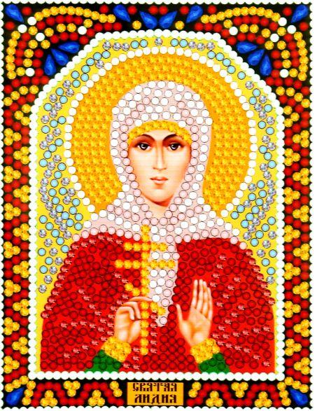 Алмазная мозаика «Святая Лидия» икона