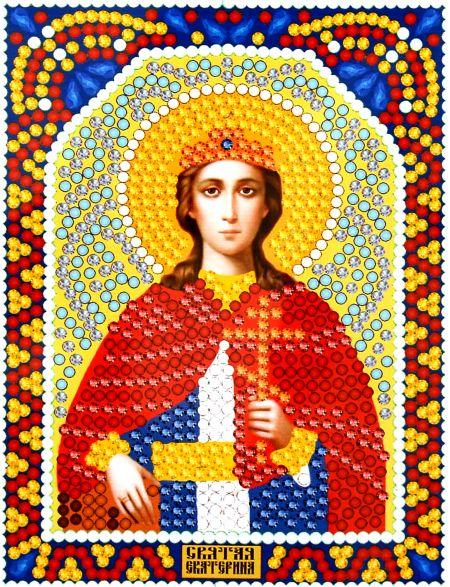 Алмазная мозаика «Святая Екатерина» икона