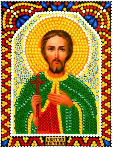 Алмазная мозаика «Святой Евгений» икона