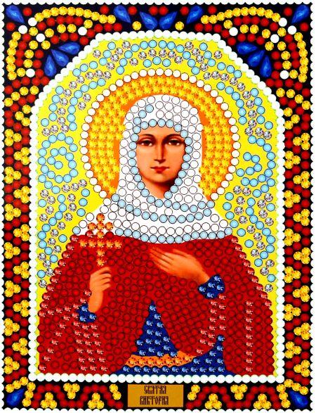 Алмазная мозаика «Святая Виктория» икона