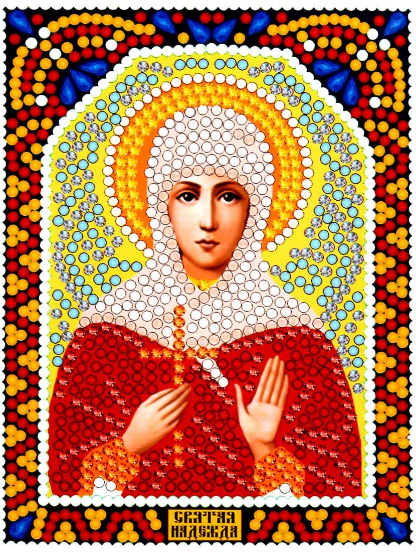Алмазная мозаика «Святая Надежда» икона
