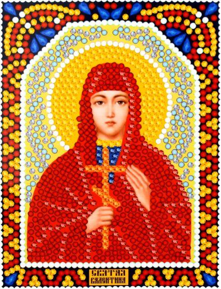 Алмазная мозаика «Святая Валентина» икона