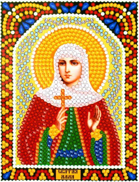 Алмазная мозаика «Святая Алла» икона