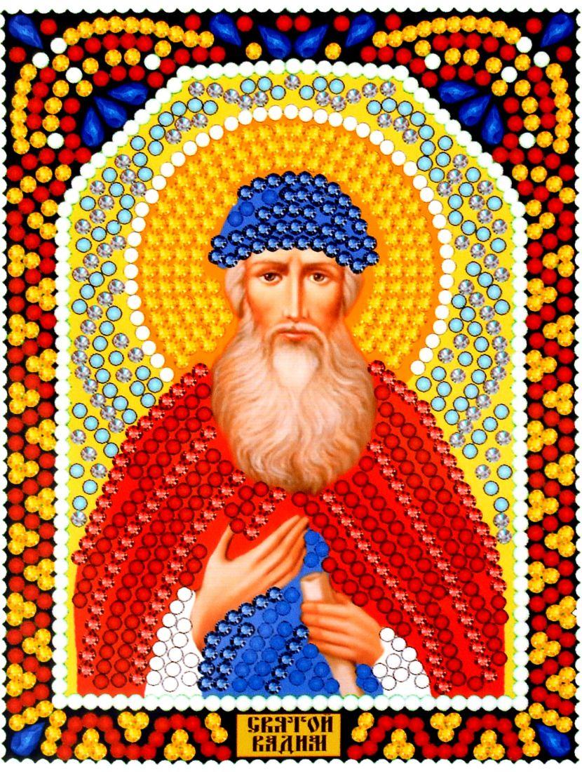 Алмазная мозаика «Святой Вадим» икона