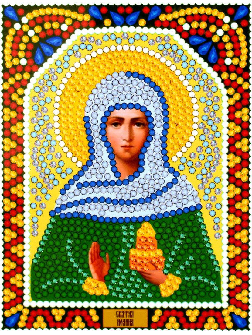 Алмазная мозаика «Святая Жанна (Яна)» икона