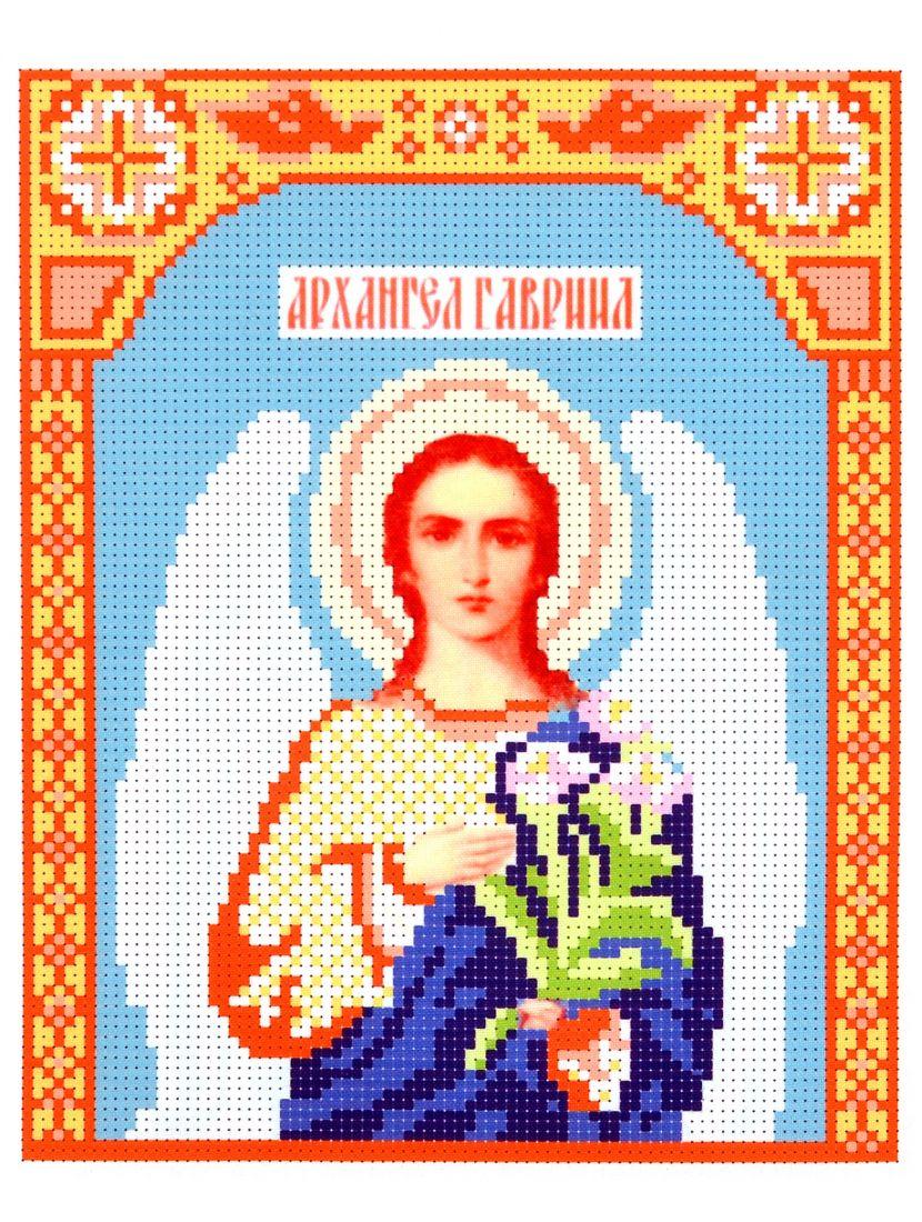 Набор для вышивания бисером «Архангел Гавриил» икона