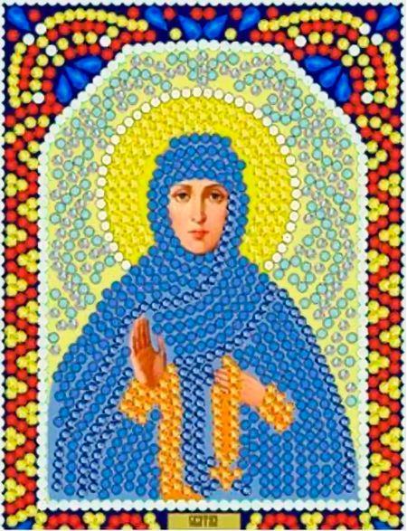 Алмазная мозаика «Святая Ангелина» икона