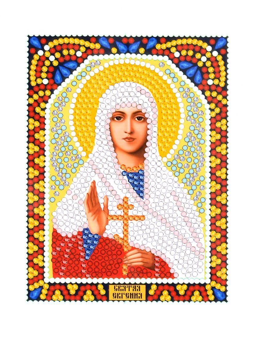 Алмазная мозаика «Святая Евгения» икона