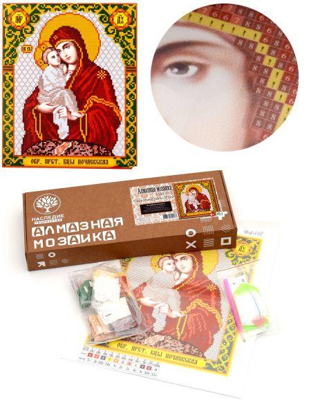 Алмазная мозаика «Божией Матери. Почаевская» икона